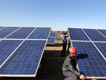 太阳能铝型材安装